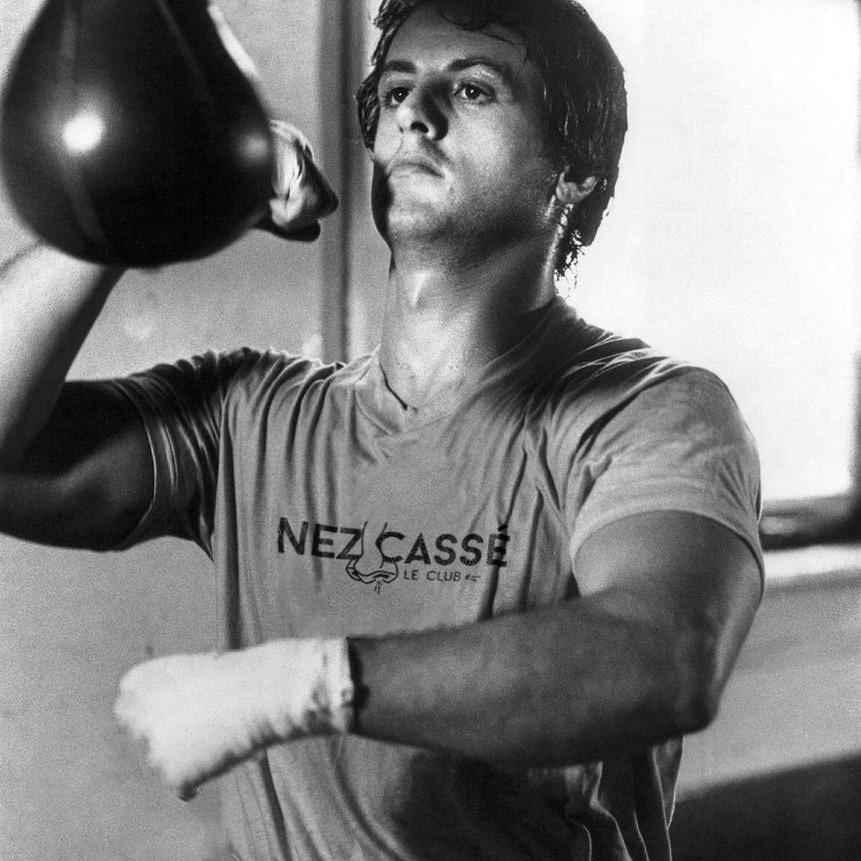 Nez cassé - Rocky Balboa